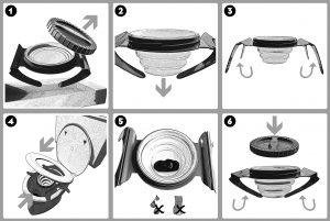 Manual fecescollector - 6 steps